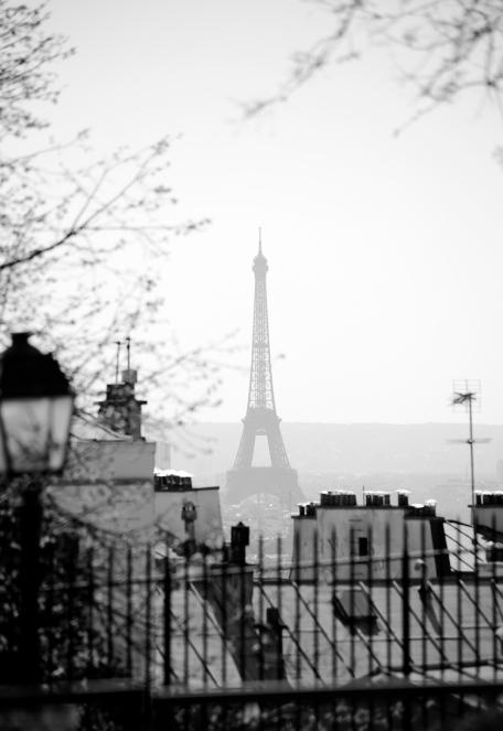 paris in black+white